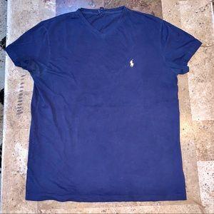 Men's SZ M POLO by Ralph Lauren blue T-shirt